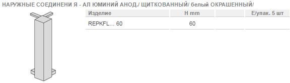 Плинтус Progress Profiles PROSKIRTING CHANNEL АЛЮМИНИЙ АНОДИРОВАННЫЙ