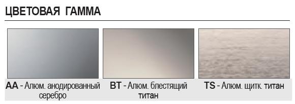 Алюминиевый плинтус Progress Profiles PKISP 70/70T ECO